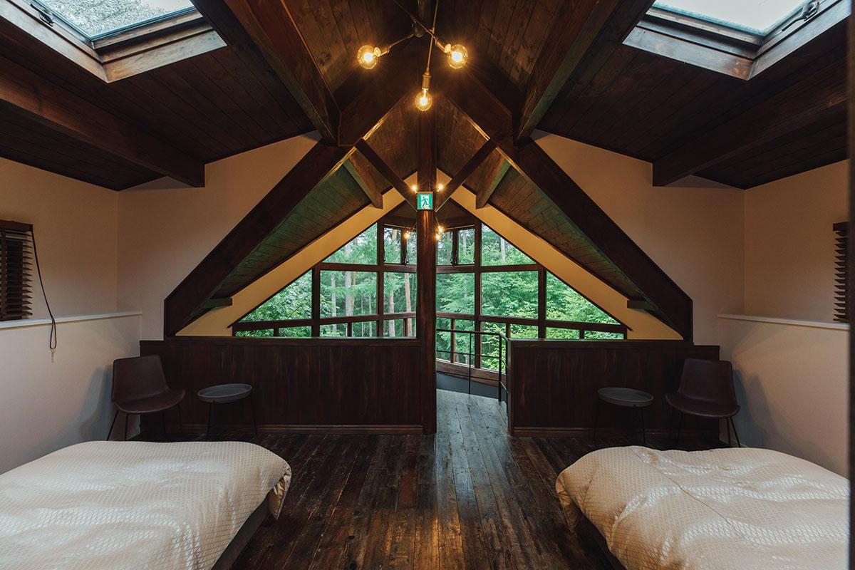 オープンベッドルーム